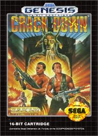 Box cover for Crack Down on the Sega Nomad.