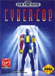 Box cover for Cyber-Cop on the Sega Nomad.