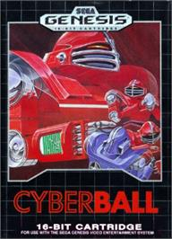 Box cover for Cyberball on the Sega Nomad.