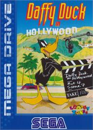 Box cover for Daffy Duck in Hollywood on the Sega Nomad.