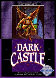 Box cover for Dark Castle on the Sega Nomad.