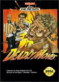 Box cover for Deadly Moves on the Sega Nomad.