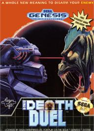 Box cover for Death Duel on the Sega Nomad.