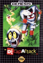 Box cover for Decapattack on the Sega Nomad.
