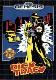 Box cover for Dick Tracy on the Sega Nomad.