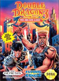 Box cover for Double Dragon 3 - The Rosetta Stone on the Sega Nomad.