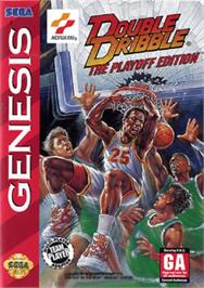 Box cover for Double Dribble: The Playoff Edition on the Sega Nomad.