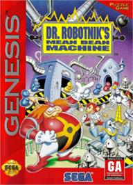 Box cover for Dr. Robotnik's Mean Bean Machine on the Sega Nomad.