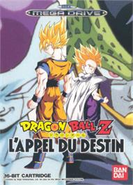 Box cover for Dragonball Z: L'Appel Du Destin on the Sega Nomad.