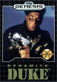 Box cover for Dynamite Duke on the Sega Nomad.