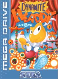 Box cover for Dynamite Headdy on the Sega Nomad.