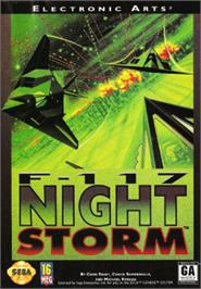 Box cover for F-117 Night Storm on the Sega Nomad.