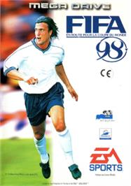 Box cover for FIFA 98: Road to World Cup on the Sega Nomad.
