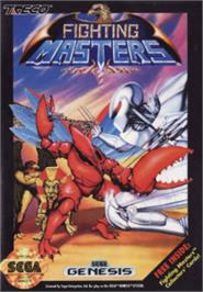 Box cover for Fighting Masters on the Sega Nomad.