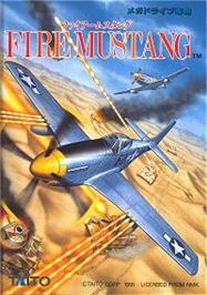 Box cover for Fire Mustang on the Sega Nomad.