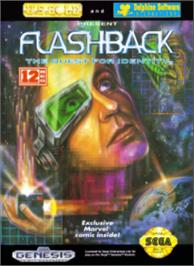 Box cover for Flashback on the Sega Nomad.
