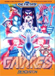 Box cover for Gaiares on the Sega Nomad.