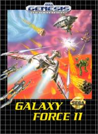 Box cover for Galaxy Force 2 on the Sega Nomad.