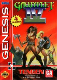 Box cover for Gauntlet IV on the Sega Nomad.