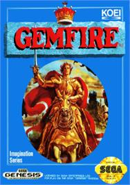 Box cover for Gemfire on the Sega Nomad.
