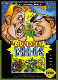 Box cover for General Chaos on the Sega Nomad.