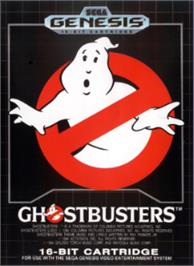 Box cover for Ghostbusters on the Sega Nomad.