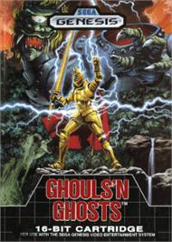 Box cover for Ghouls'n Ghosts on the Sega Nomad.