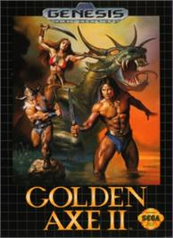 Box cover for Golden Axe II on the Sega Nomad.