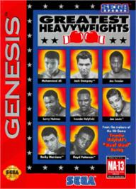 Box cover for Greatest Heavyweights on the Sega Nomad.