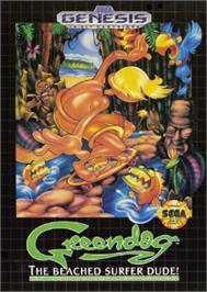 Box cover for Greendog: The Beached Surfer Dude on the Sega Nomad.