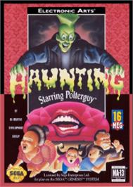 Box cover for Haunting Starring Polterguy on the Sega Nomad.