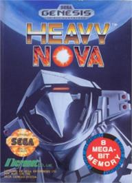 Box cover for Heavy Nova on the Sega Nomad.