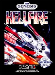 Box cover for Hellfire on the Sega Nomad.