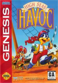 Box cover for High Seas Havoc on the Sega Nomad.
