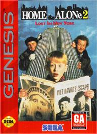 Box cover for Home Alone 2 - Lost in New York on the Sega Nomad.
