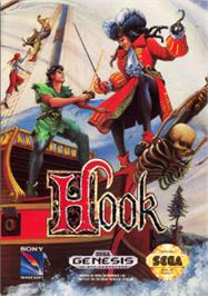 Box cover for Hook on the Sega Nomad.