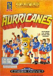Box cover for Hurricanes, The on the Sega Nomad.