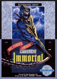 Box cover for Immortal, The on the Sega Nomad.