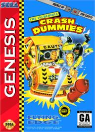 Box cover for Incredible Crash Dummies, The on the Sega Nomad.