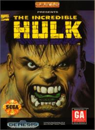 Box cover for Incredible Hulk, The on the Sega Nomad.