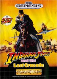 Box cover for Indiana Jones and the Last Crusade: The Action Game on the Sega Nomad.