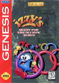 Box cover for Izzy's Quest for the Olympic Rings on the Sega Nomad.