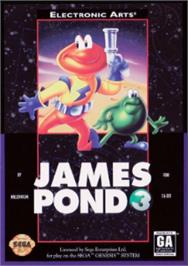 Box cover for James Pond 3: Operation Starfish on the Sega Nomad.