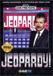 Box cover for Jeopardy on the Sega Nomad.