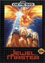 Box cover for Jewel Master on the Sega Nomad.