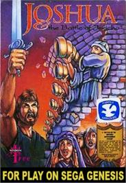 Box cover for Joshua & the Battle of Jericho on the Sega Nomad.