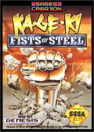 Box cover for Ka•Ge•Ki: Fists of Steel on the Sega Nomad.