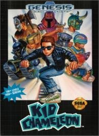 Box cover for Kid Chameleon on the Sega Nomad.