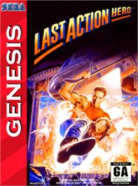 Box cover for Last Action Hero on the Sega Nomad.
