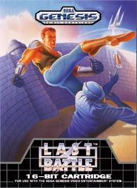 Box cover for Last Battle on the Sega Nomad.